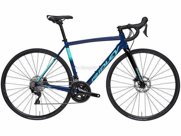 Ridley Liz SLA Disc 105 Mix Ladies Alloy Road Bike 2021 M, Blue, Black, Turquoise, Alloy Frame, 22 Speed, 105 Drivetrain, 700c Wheels, Disc Brakes,