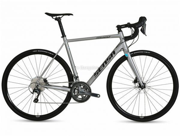 Sensa Romagna Disc Limited Tiagra Alloy Road Bike 2021 51cm,54cm,58cm, Grey, Alloy Frame, 700c wheels, Disc, Double Chainring, 20 Speed, Tiagra Groupset