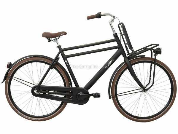 Van Tuyl Porter RN3 Extra Alloy City Bike 2020 54cm, Black, Alloy Frame, 3 Speed, Nexus Drivetrain, 700c Wheels, Caliper Brakes, 21kg