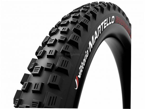 "Vittoria Martello G+ Isotech TNT 27.5"" Folding MTB Tyre 27.5"", 2.6"", Black, Kevlar, Rubber, 920g"