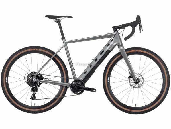 "Vitus E Substance Fazua Alloy E Adventure Electric Bike 2021 M,L,XL, Grey, Black, Alloy Frame, 11 Speed, Apex Drivetrain, 27.5"" Wheels, Disc Brakes, 15.3kg"