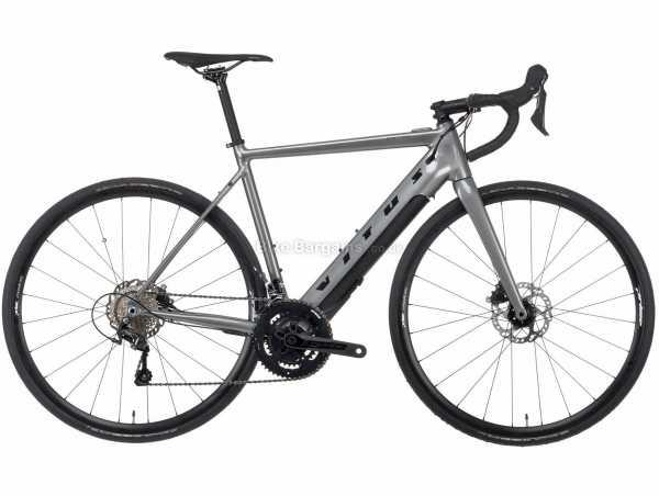 Vitus Emitter Alloy E Electric Road Bike 2021 S,M,L,XL, Grey, Black, Alloy Frame, 20 Speed, Tiagra Drivetrain, 700c Wheels, Disc Brakes, 15.41kg