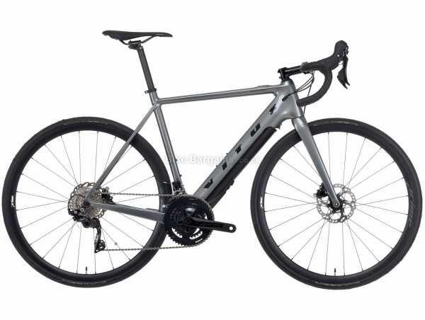 Vitus Emitter Fazua Carbon E Electric Road Bike 2021 S,M,L,XL, Grey, Black, Carbon Frame, 22 Speed, 105 Drivetrain, 700c Wheels, Disc Brakes, 13.77kg