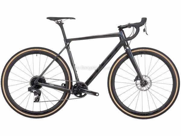 Vitus Energie EVO CRS Force eTap AXS CX Carbon Cyclocross Bike 2021 M, Black, Carbon Frame, 12 Speed, Force Drivetrain, 700c Wheels, Disc Brakes, 7.7kg