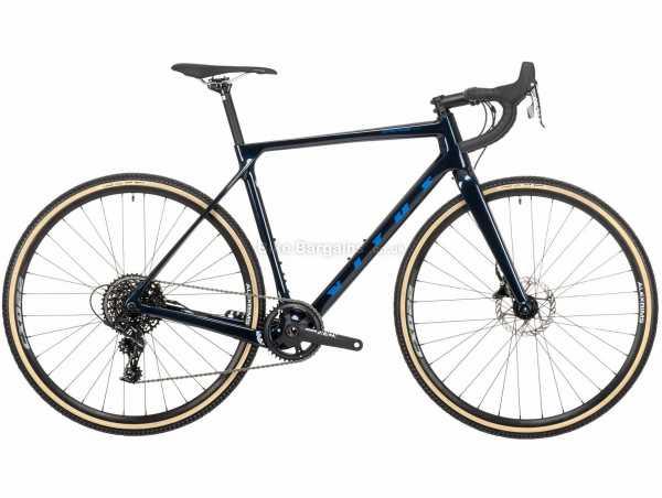 Vitus Energie Evo C Apex Carbon Cyclocross Bike 2021 L, Blue, Black, Carbon Frame, 11 Speed, Apex Drivetrain, 700c Wheels, Disc Brakes, 8.7kg