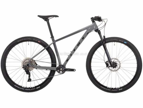 "Vitus Rapide 29 Alloy Hardtail Mountain Bike 2021 M, Grey, Black, Alloy Hardtail Frame, 10 Speed, Deore Drivetrain, 29"" Wheels, Disc Brakes"