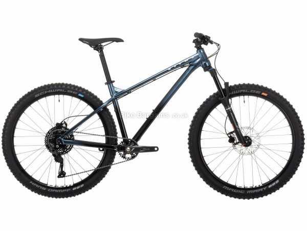 "Vitus Sentier 27 Alloy Hardtail Mountain Bike 2021 L, Blue, Black, Alloy Hardtail Frame, 10 Speed, Deore Drivetrain, 27.5"" Wheels, Disc Brakes, 13.33kg"