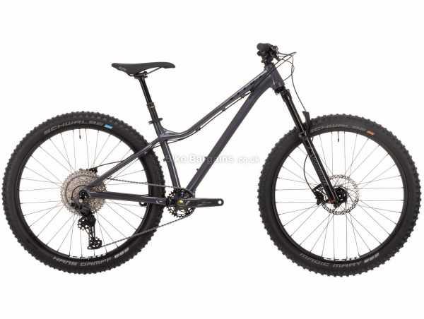 "Vitus Sentier 27 VRW Ladies Alloy Hardtail Mountain Bike 2021 M, Grey, Black, Alloy Hardtail Frame, 11 Speed, Deore Drivetrain, 27.5"" Wheels, Disc Brakes,"