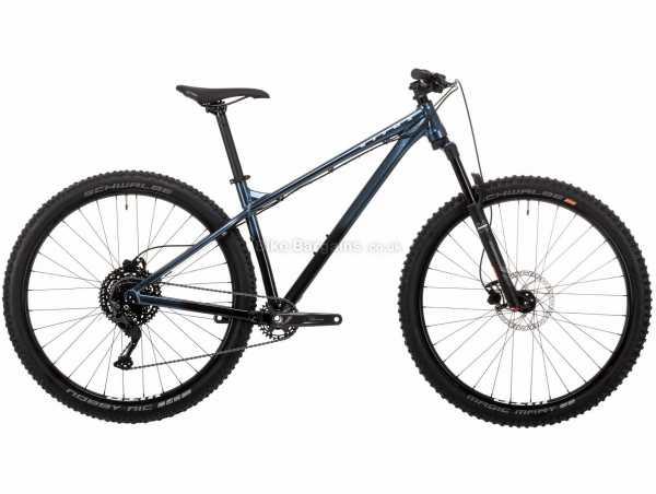 "Vitus Sentier 29 Alloy Hardtail Mountain Bike 2021 L, Blue, Black, Alloy Frame, 29"" Wheels, 10 Speed, Disc Brakes, Hardtail, Suspension, Single Chainring"