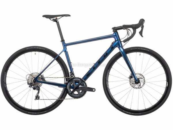 Vitus Zenium CRS Ultegra Carbon Road Bike 2021 XS, Blue, Carbon Frame, 22 Speed, Ultegra Drivetrain, 700c Wheels, Disc Brakes, 8.19kg