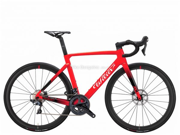 Wilier Cento 10 SL Force AXS eTap Disc Carbon Road Bike M, Red, Black, Force Groupset, Carbon Frame, 24 Speed, 700c Wheels, Double Chainring, Disc