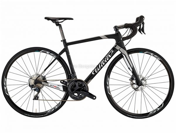 Wilier GTR Team Disc 105 Carbon Road Bike L, Black, White, 105 Groupset, Carbon Frame, 22 Speed, 700c Wheels, Double Chainring, Disc