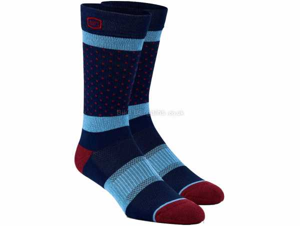 100% Opposition Casual Socks S,M, Grey, Blue, Unisex, Cotton, Polyester