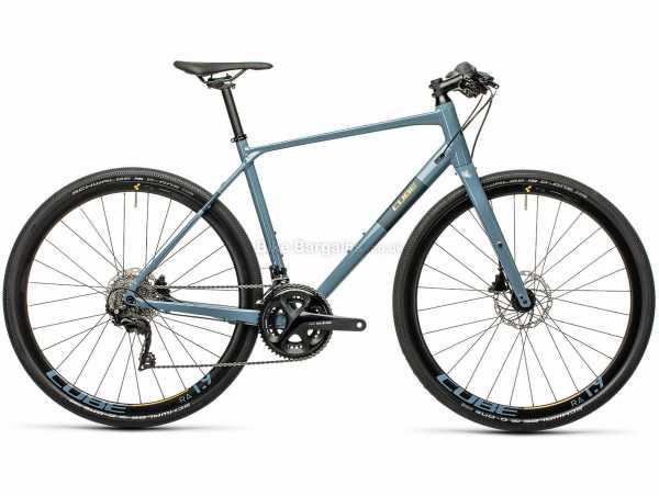 Cube SL Alloy Road Race City Bike 2021 53cm, Blue, Orange, Alloy Frame, 22 Speed, 105 Groupset, Disc Brakes, Double Chainring, 10.1kg