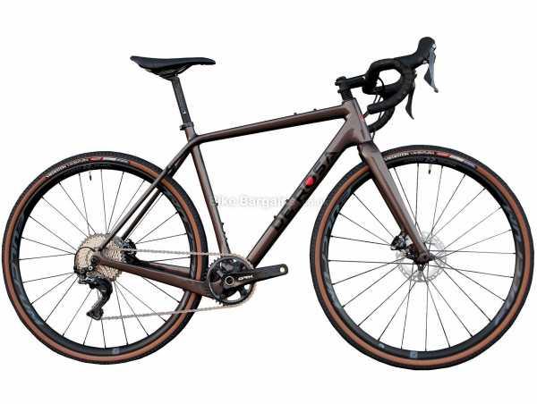 De Rosa Gravel GRX800 Carbon Gravel Bike 2021 56cm, Brown, Carbon Frame, 11 Speed, GRX Groupset, Disc Brakes, Single Chainring