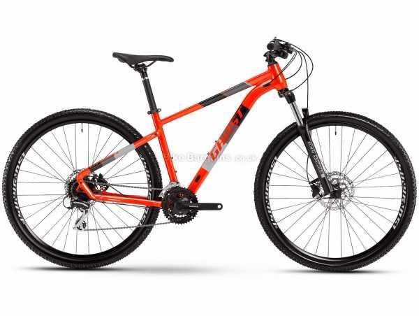 Ghost Kato Essential 29 Alloy Hardtail Mountain Bike 2021 S, Blue, Grey, Alloy Frame, 24 Speed, Acera & Tourney Groupset, Disc Brakes, Triple Chainring