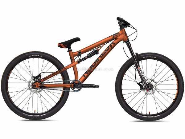 NS Bikes Soda Slope Alloy Dirt Jump Bike 2020 M, Orange, Black, Alloy Frame, Single Speed, Disc Brakes, Single Chainring, 13.8kg