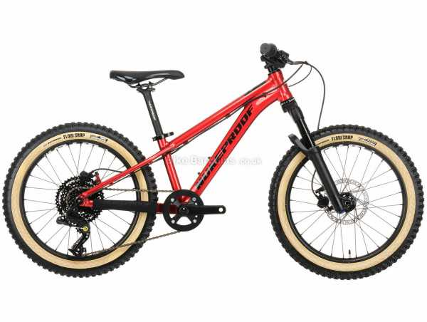 Nukeproof Cub-Scout 20 Box 4 Race Alloy Kids Bike M, Red, Alloy Frame, 8 Speed, Box Four Groupset, Disc Brakes, Single Chainring, 10.8kg