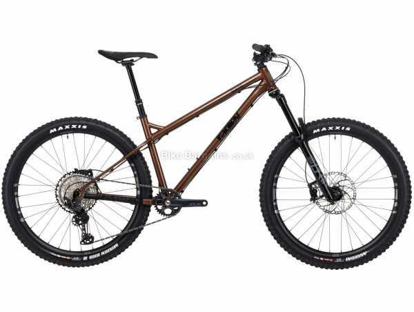 Ragley Blue Pig Race Steel Hardtail Mountain Bike 2021 S,M,L,XL, Brown, Black, Steel Frame, 12 Speed, XT, SLX Groupset, Disc Brakes, Single Chainring
