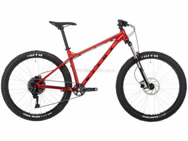 Vitus Nucleus 27 VRS Alloy Hardtail Mountain Bike 2021 L, Red, Black, Alloy Frame, 10 Speed, Deore Groupset, Disc Brakes, Single Chainring, 14.08kg