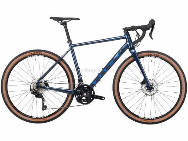 Vitus Substance VR-2 GRX 400 Alloy Adventure Gravel Bike 2021 M,L, Blue, Alloy Frame, 20 Speed, GRX Groupset, Disc Brakes, Double Chainring, 10.55kg