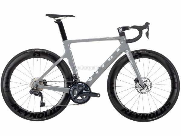 Vitus ZX-1 EVO CRS Ultegra Di2 Carbon Road Bike 2021 XXL, Grey, Black, Carbon Frame, 22 Speed, Ultegra Groupset, Disc Brakes, Double Chainring, 8kg