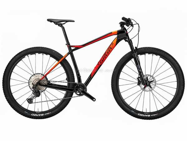 "Wilier 101X XT Carbon Hardtail Mountain Bike 2021 L, Black, Orange, Red, Carbon Frame, XT, SLX, 11 Speed, 29"" Wheels, Disc Brakes, Hardtail, Suspension, Single Chainring"