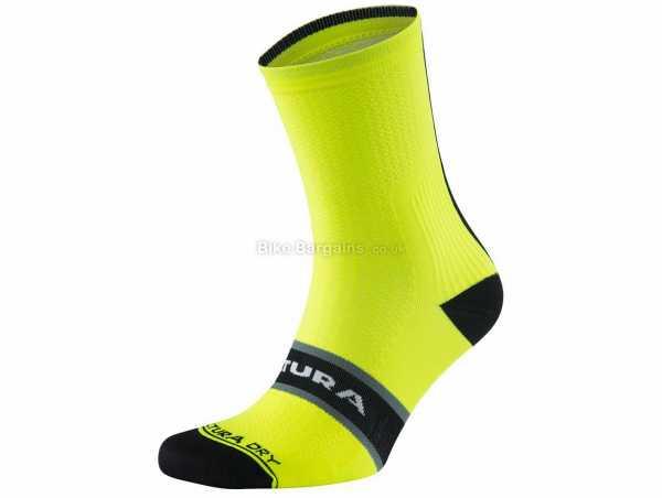 Altura Elite Socks 3 Pack L, Yellow, Black, White, Unisex, Polyester, Elastane