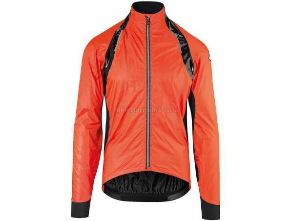 Assos rs.sturmPrinz EVO Windproof Jacket XS, Red, Black, Men's, Long Sleeve, Zip, Breathable, Waterproof, Windproof, Polyamide, Polyurethane, Elastane