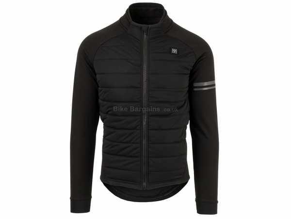 Agu Deep Winter Heated Ladies Jacket M, Black, Long Sleeve, Zip, Thermal, 3 rear pockets, Ladies
