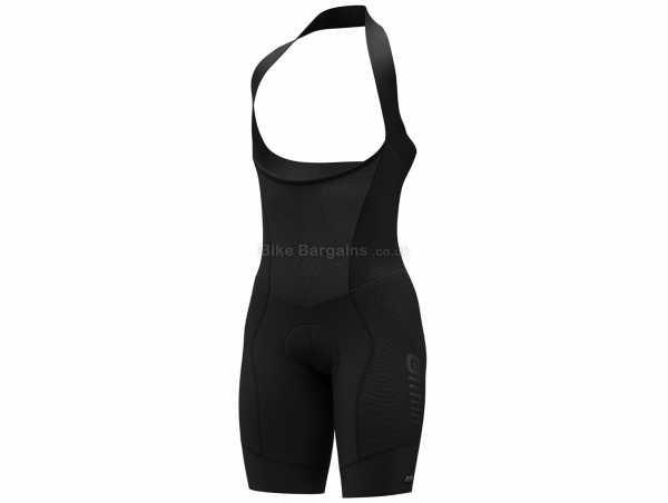 Ale Ladies R-EV1 Future Plus Bib Shorts S,M,L,XL,XXL,XXXL, Black, Ladies, Tight, Polyamide, Elastane