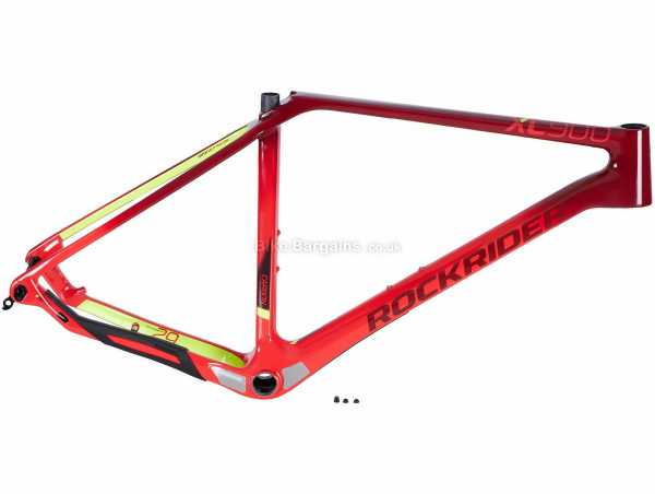 """B'Twin Rockrider XC 900 29"""" Carbon Hardtail MTB Frame 2020 XL, Red, Carbon Frame, 29"""", Disc, Hardtail"""