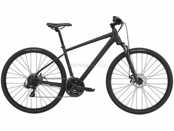 Cannondale Quick CX 4 Alloy City Bike 2021 M,XL, Black, Alloy Frame, Microshift 21 Speed, 700c Wheels, Disc Brakes, Triple Chainring