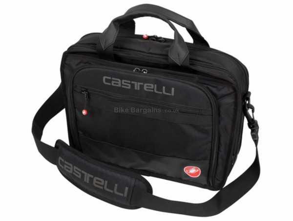 Castelli Race Briefcase One Size, Black, Nylon, Polyester