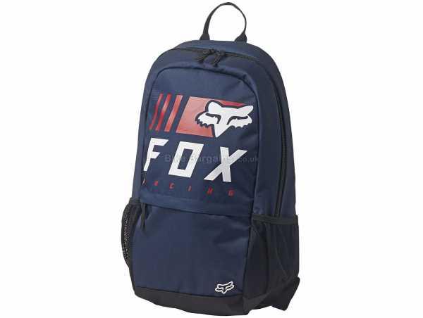 Fox Overkill 180 27 Litre Backpack 27 Litres,52cm,31cm,17cm, Black, Blue, Orange, Nylon, Polyester