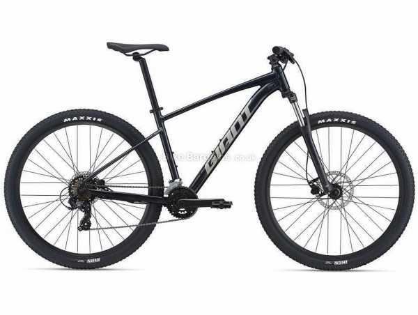 """Giant Talon 3 29 Alloy Hardtail Mountain Bike 2021 M, Black, Alloy Frame, 16 Speed, 29"""" Wheels, Tourney, Alivio, Double Chainring, Disc Brakes"""