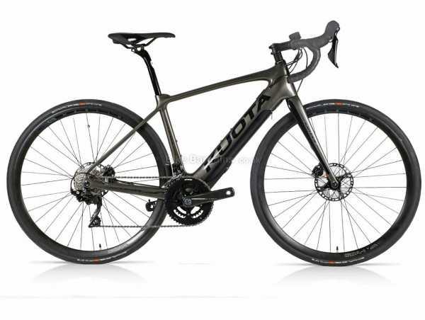 Kuota Kathode 105 Carbon Road Electric Bike 2021 XS,S,M,L, Black, Carbon Frame, 105 22 Speed Groupset, 700c wheels, Disc Brakes, Double Chainring