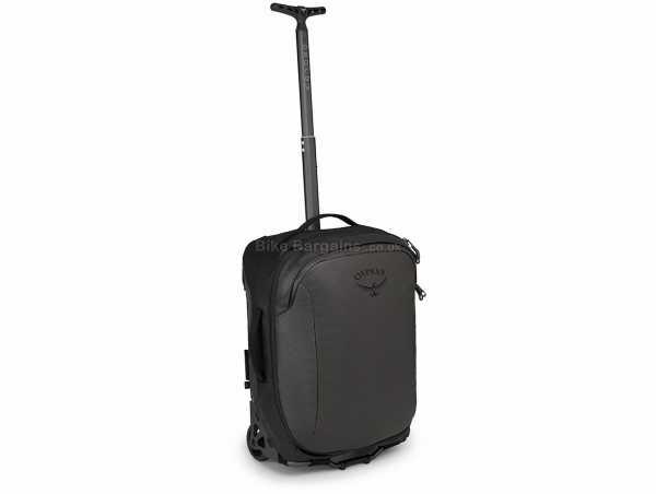 Osprey Rolling Transporter Carry-On 30 Litre Bag 33 Litres,52cm,40cm,26cm, Black, Nylon, Polyester, 2.2kg