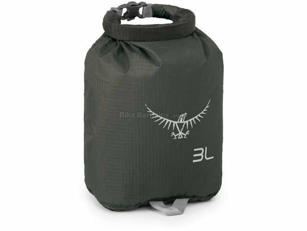 Osprey Ultralight 3 Litre DrySack 3 Litres,22cm,16cm,8cm, Orange, Silicone, Nylon, 20g
