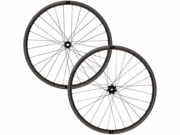 "Reynolds Black Label 407 Carbon Boost MTB Wheels 27.5"", SRAM, Black, Carbon, 1.795kg, Disc Brakes, for MTB use"
