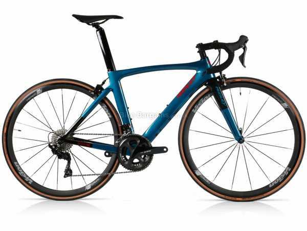 Ridley Noah SL 105 Carbon Road Bike 2018 XS, Blue, Carbon Frame, 105 22 Speed Groupset, 700c wheels, Caliper Brakes, Double Chainring