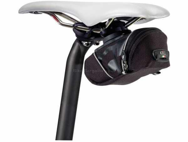 Scicon Hipo 550 Saddle Bag 0.55 Litres, Black, Nylon, 137g