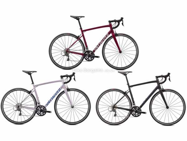 Specialized Allez E5 Alloy Road Bike 2021 44cm, Red, Grey, Alloy Frame, Claris 16 Speed, Caliper Brakes, 700c Wheels, Double Chainring