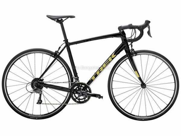 Trek Domane AL 2 Alloy Road Bike 2021 56cm, Black, Alloy Frame, Claris 16 Speed, 700c Wheels, Caliper Brakes, Double Chainring