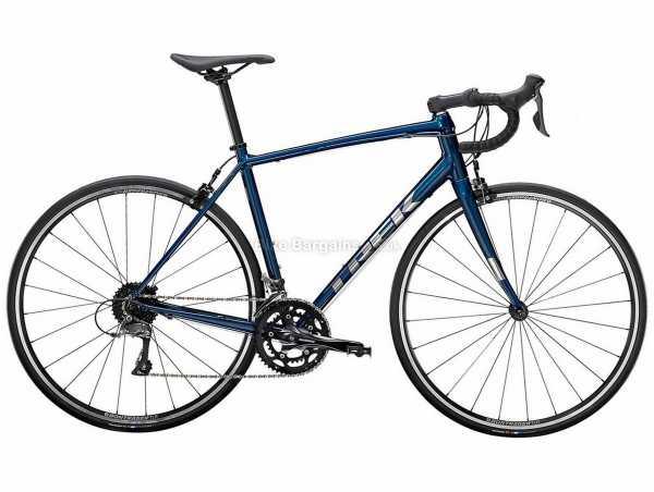 Trek Domane AL 2 Alloy Road Bike 2022 56cm, Blue, Alloy Frame, 700c, Claris 16 Speed, Rigid, Caliper Brakes, Double Chainring