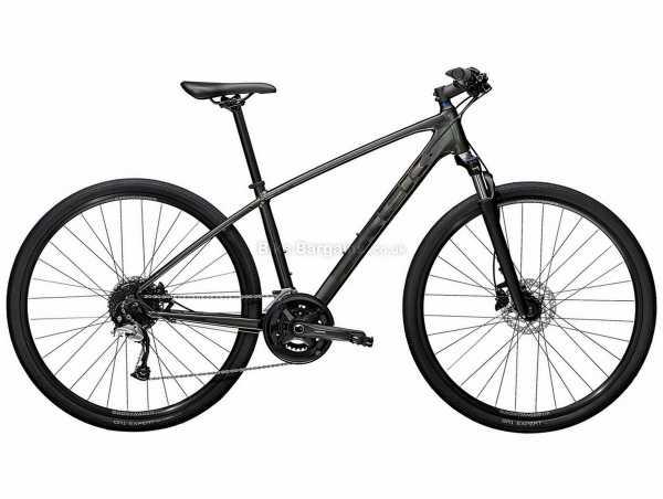 Trek Dual Sport 3 Alloy City Bike 2022 S, Black, Alloy Frame, Acera & Alivio 18 Speed, 700c Wheels, Disc Brakes, 13.45kg