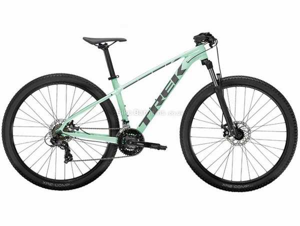 "Trek Marlin 4 Alloy Hardtail Mountain Bike 2022 XS,M,L, Green, Black, Red, Grey, Alloy Frame, 21 Speed, 29"" Wheels, Tourney, Triple Chainring, Disc Brakes"