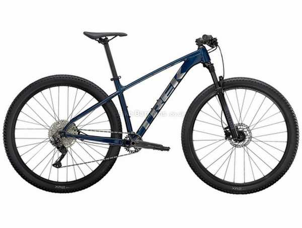 "Trek X Caliber 7 Alloy Hardtail Mountain Bike 2021 M,L, Blue, Black, Alloy Frame, Deore 10 Speed, Disc Brakes, 27.5"" or 29"" Wheels, Single Chainring"