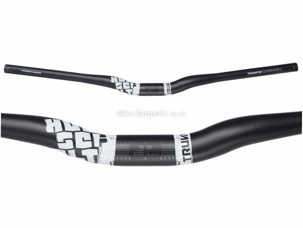 Truvativ Hussefelt Alloy MTB Riser Bar 700mm, 31.8mm, Black, Alloy, 320g