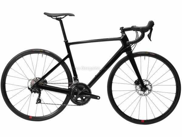 Van Rysel EDR CF 105 Disc Carbon Road Bike S,XL, Black, Carbon Frame, 105 22 Speed, 700c Wheels, Disc Brakes, 8.2kg